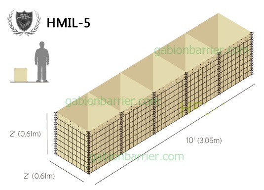 MIL5 Hesly Defence Barrier Factory