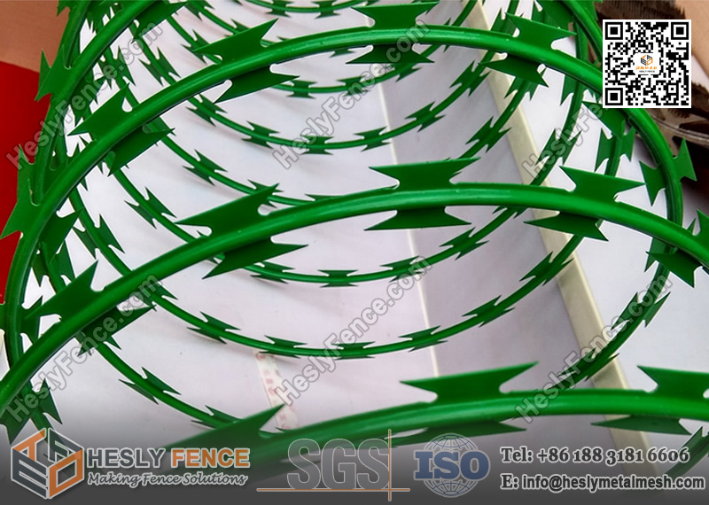 PVC Coated Razor Wire Coil