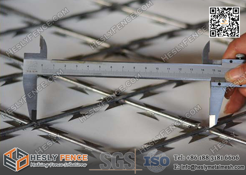 Welded Razor Mesh Fencing