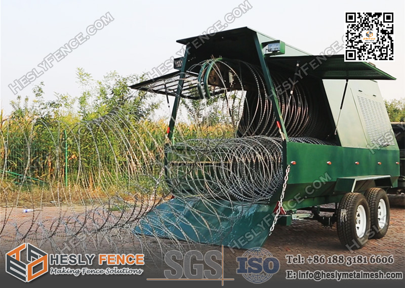 Rapid Deployment Razor Wire Barrier