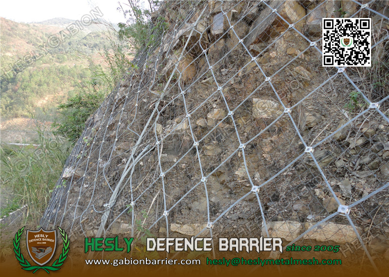Active Rockfall Protection Barrier