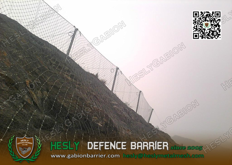 Passive Rockfall Protection Barriers