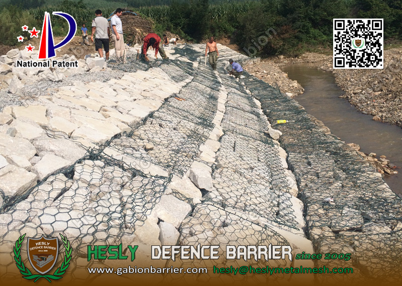 Assemble Guide of Gabion Mattress